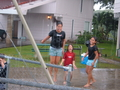 The Girls Playing In The Rain...Remember?