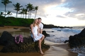 Couples Photography at Po'olenalena Beach